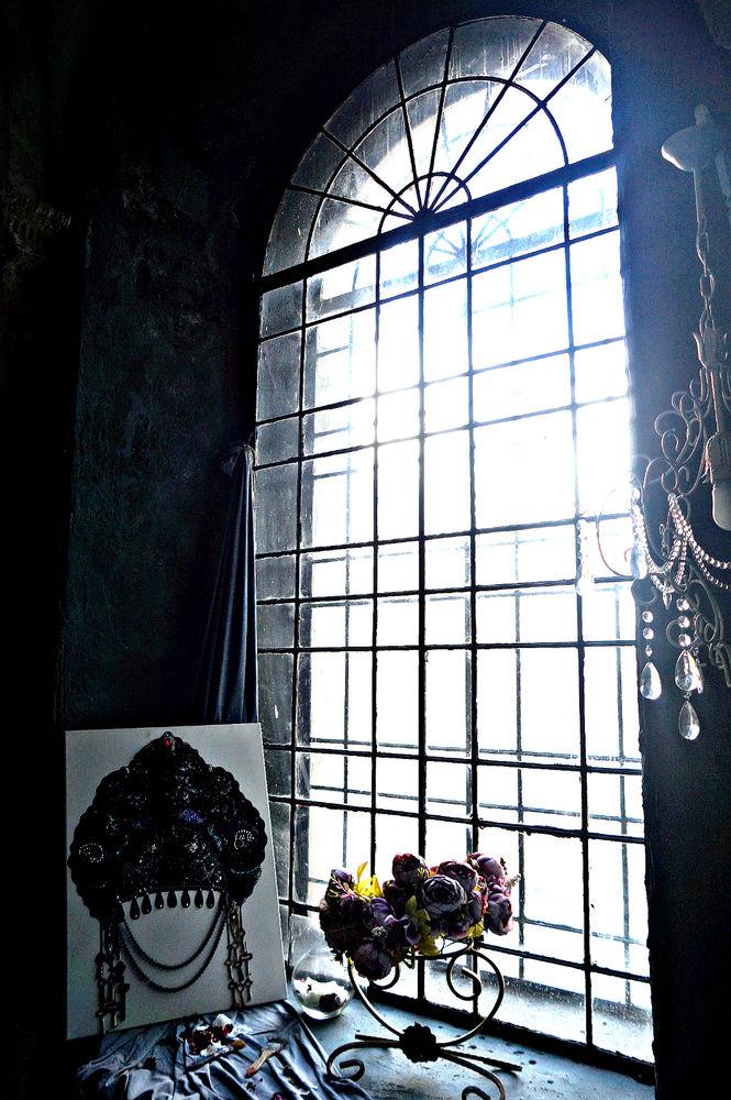 kokoshnik, готическая картина