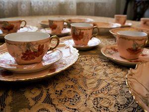 Чайно-кофейный Лимож 1900-1920 г.г. Ярмарка Мастеров - ручная работа, handmade.