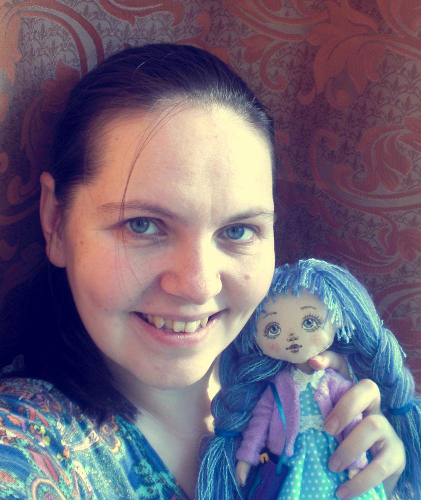 интерьерная кукла, подарок для девушки