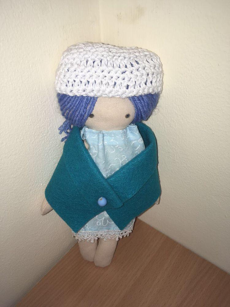 текстильная кукла, первый опыт, первая кукла, шитье, работа