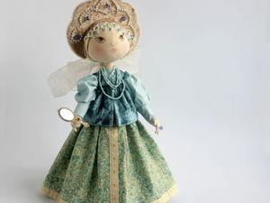 Шьем текстильную куклу Аленушку. Ярмарка Мастеров - ручная работа, handmade.