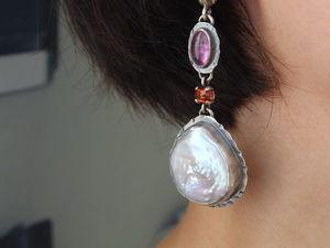Серьги в ушах, часть I. Ярмарка Мастеров - ручная работа, handmade.
