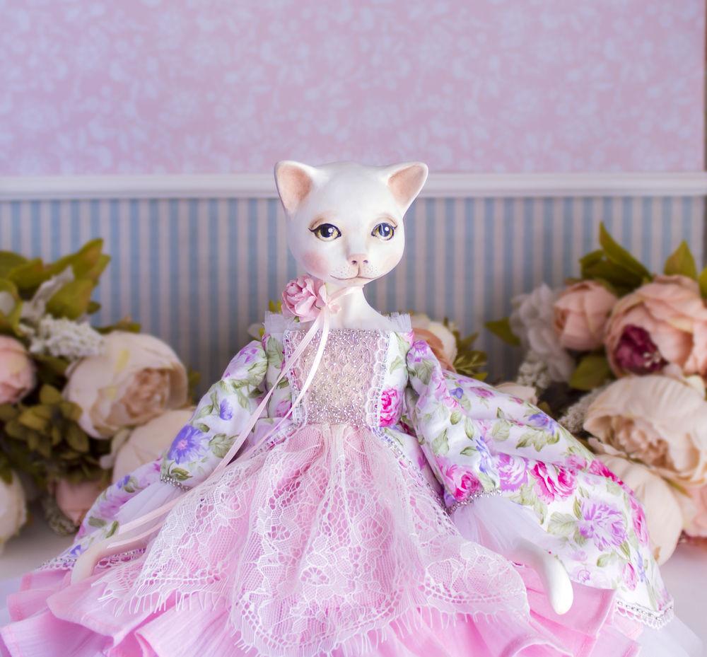 купить текстильная кукла, купить нежная кукла