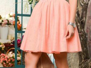 Готовимся к весне. Фатиновая юбка, и как ее носить. Ярмарка Мастеров - ручная работа, handmade.