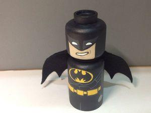 Делаем Бэтмена из деревянной заготовки. Ярмарка Мастеров - ручная работа, handmade.