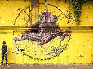 Искусство в городе. Стрит-арт. Ярмарка Мастеров - ручная работа, handmade.