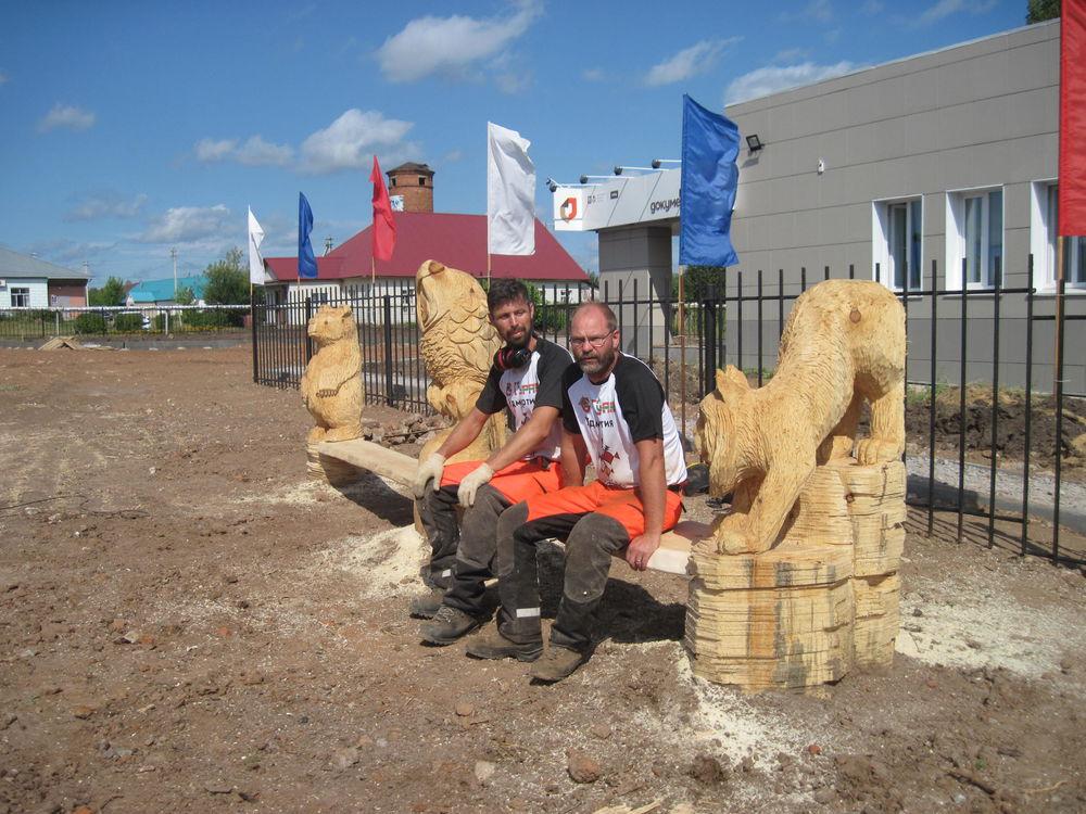 Об участии в международном фестивале деревянной скульптуры., фото № 29