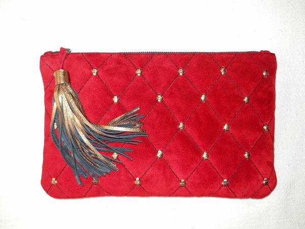 Курс по изготовлению сумок из кожи: КЛАТЧ   Ярмарка Мастеров - ручная работа, handmade