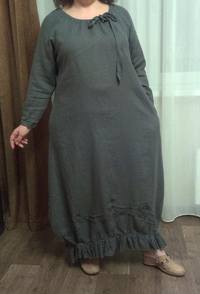 kayros, платье в стиле бохо, платье из льна, платье длинное, бохо стиль