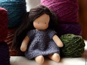 Проект совместного пошива куколки-малышки. Ярмарка Мастеров - ручная работа, handmade.