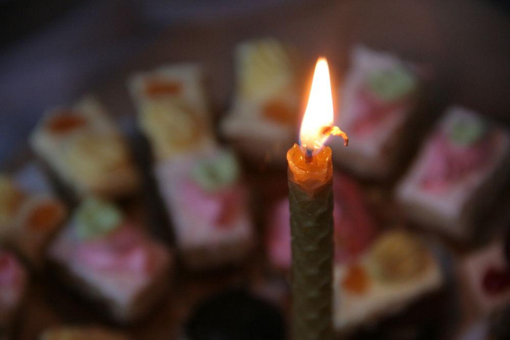 Свеча в подарок поздравление