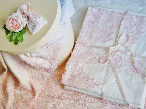 -10% сегодня! Принимаем заказы на постельное белье с шикарным кружевом | Ярмарка Мастеров - ручная работа, handmade