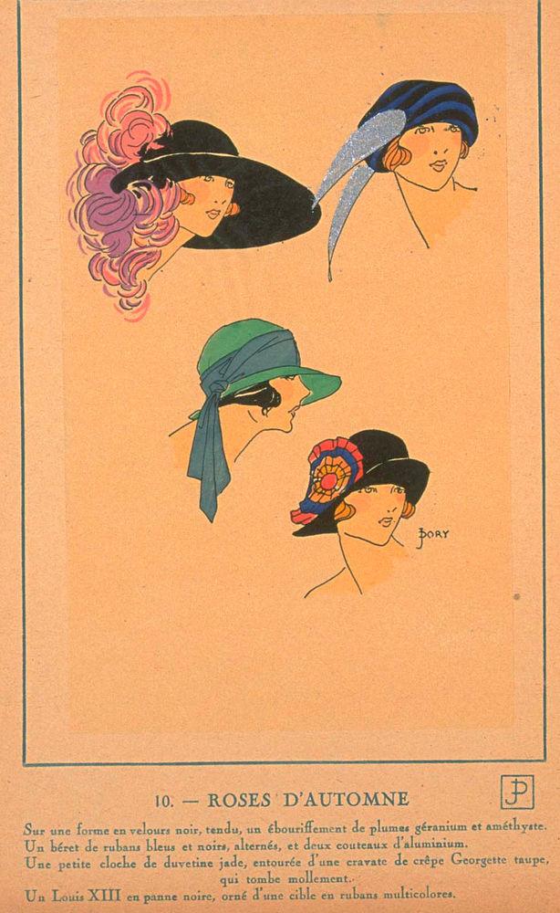 Ах, какие шляпки! Шляпная мода 1922 года по версии французского журнала «Les chapeaux du Tres parisien». Часть 2, фото № 31
