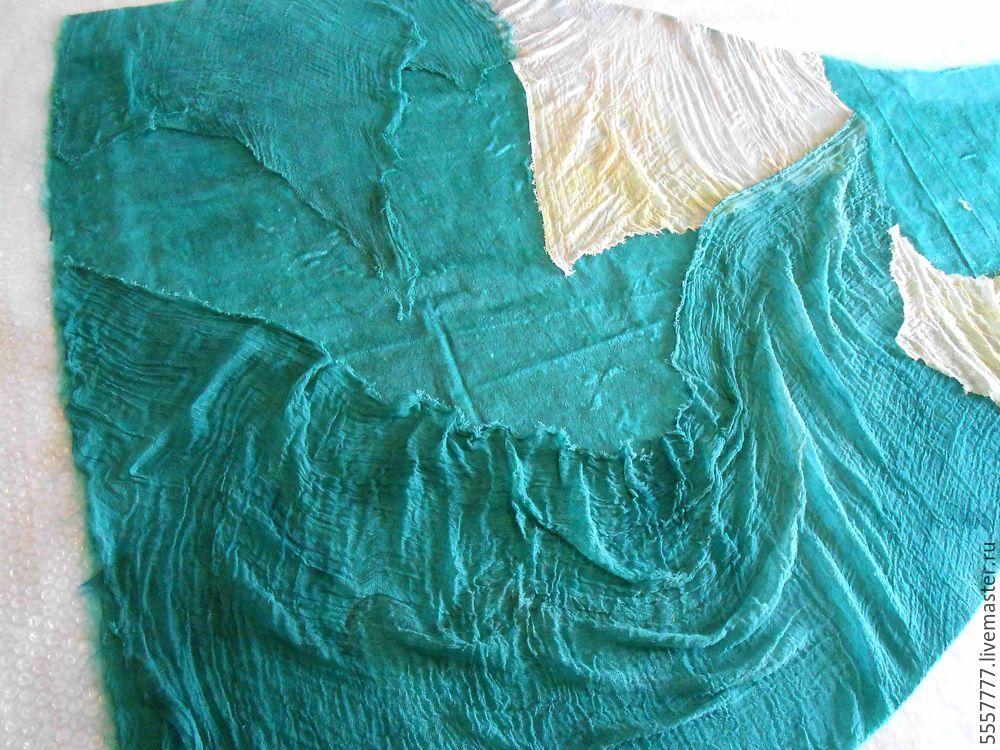 Создаем оригинальную тунику из марли и шерсти, фото № 20