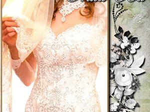 Свадебное платье  «Прекрасный день!». Ярмарка Мастеров - ручная работа, handmade.
