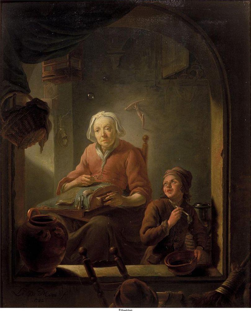Когда есть чем заняться — стареть некогда: душевные картины о бабушках-рукодельницах, фото № 38