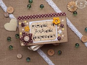 Создаем «Мамины сокровища» своими руками. Ярмарка Мастеров - ручная работа, handmade.