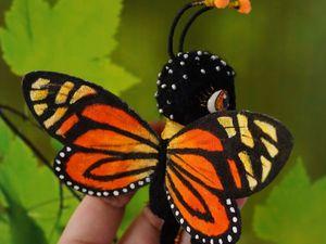 Сегодня новая бабочка или Лето продолжается!. Ярмарка Мастеров - ручная работа, handmade.