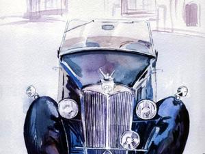 Ретро автомобиль на главной странице!!! | Ярмарка Мастеров - ручная работа, handmade