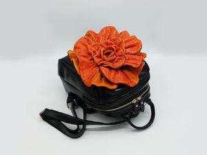 Видео-обзор рюкзаков-цветов + Рыжий, + Фиолетовый, + Какао, + Серый. Ярмарка Мастеров - ручная работа, handmade.