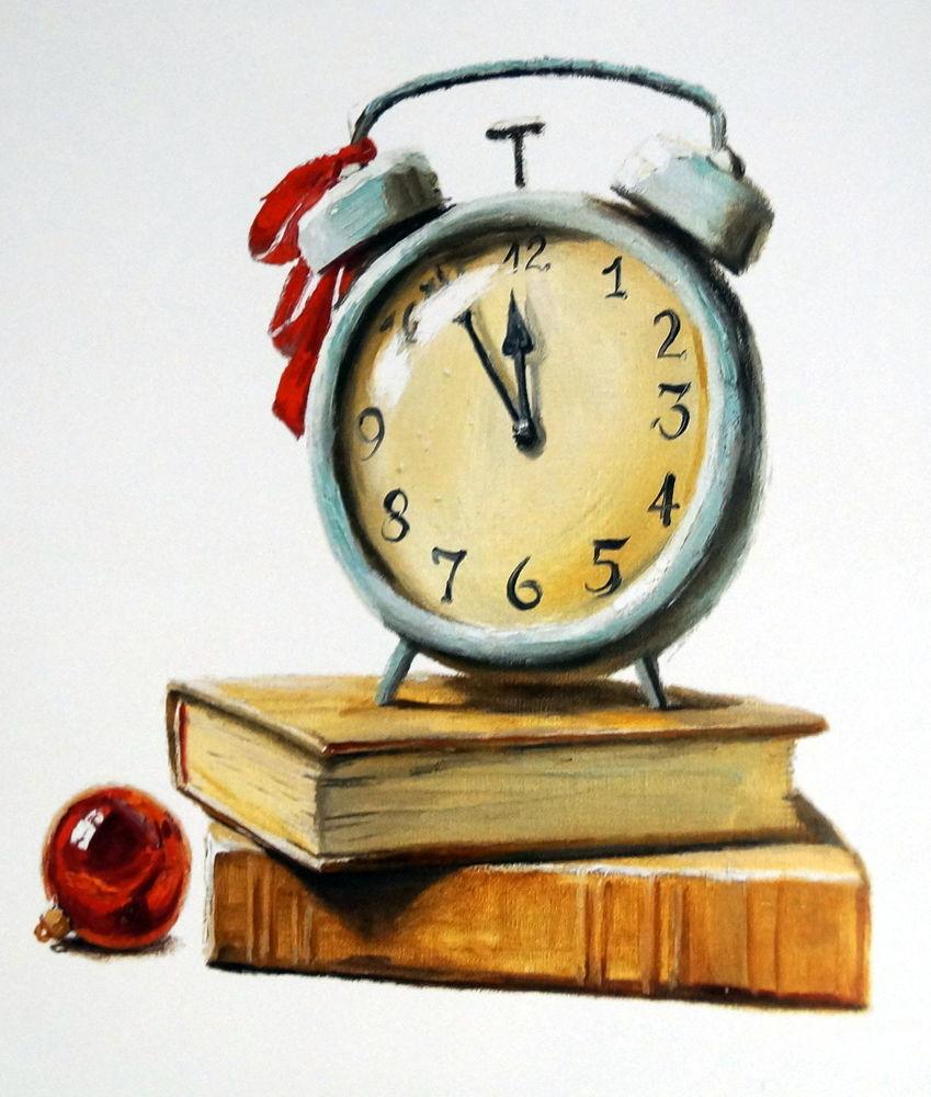 живопись маслом, новый год, радость творчества, натюрморт маслом