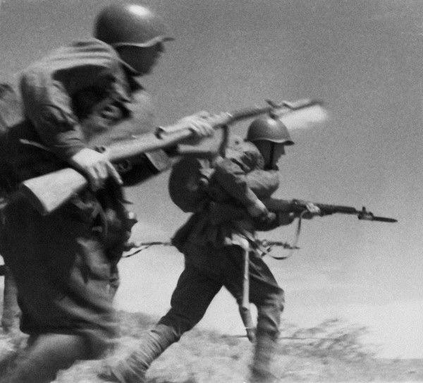 солдат, вторая мировая