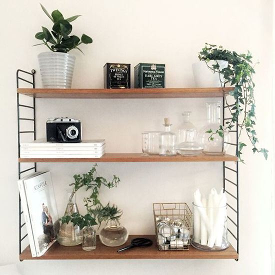 Simple and Budget Ideas for Home: Open Shelves and Ways of Mounting, фото № 11