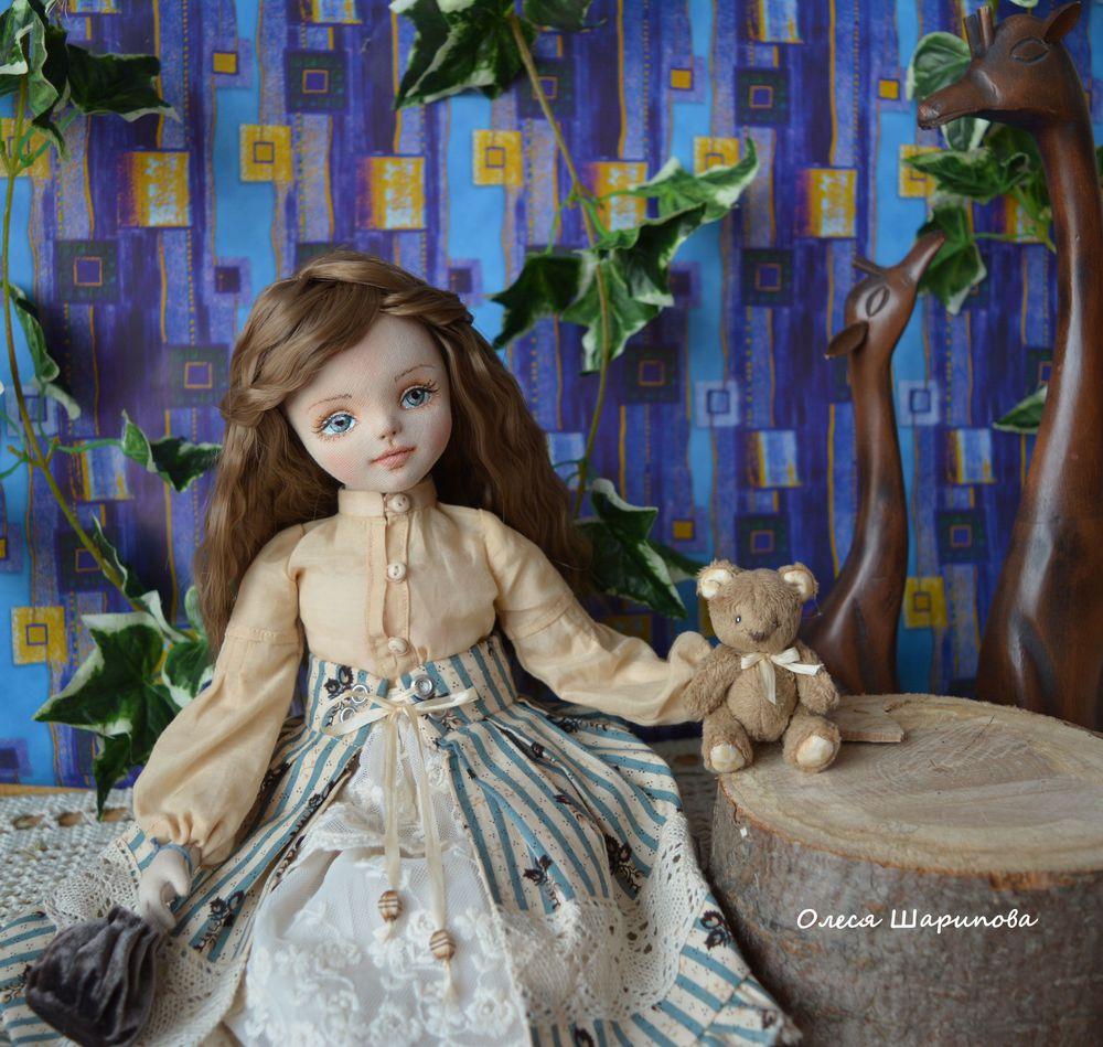 кукла ручной работы, коллекционная кукла, кукла коллекционная