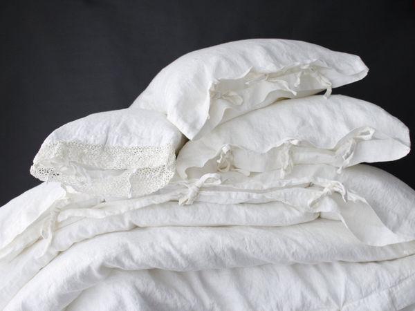 Новинка!Акция! Льняные комплекты постельного белья | Ярмарка Мастеров - ручная работа, handmade