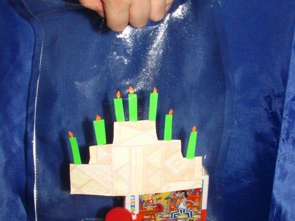 Делаем красивый пакет из файла для бумаг   Ярмарка Мастеров - ручная работа, handmade