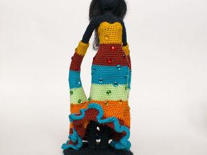 Визитная карточка: Фея танца или Бегущая по волнам. Ярмарка Мастеров - ручная работа, handmade.