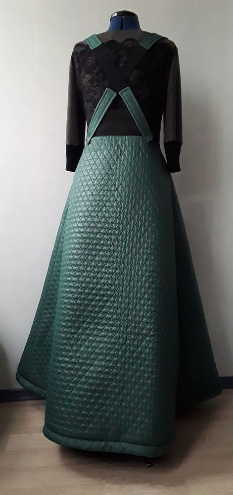 длинная юбка, зимняя юбка, юбка макси