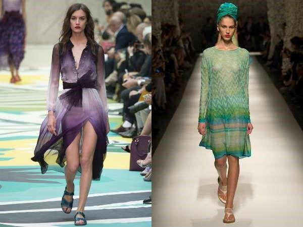 Тенденции моды эффект омбре