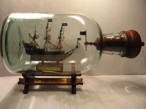 Изготовление корабля в бутылке «Месть королевы Анны». Часть 4 | Ярмарка Мастеров - ручная работа, handmade