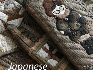 Японский пэчворк | Ярмарка Мастеров - ручная работа, handmade
