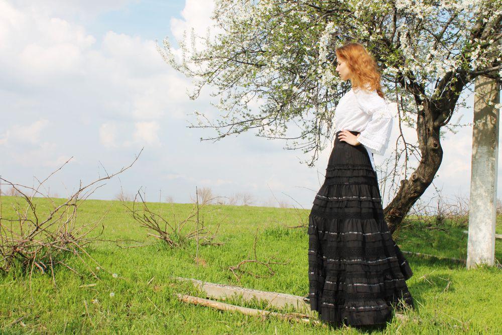 юбка бохо, бохо платье