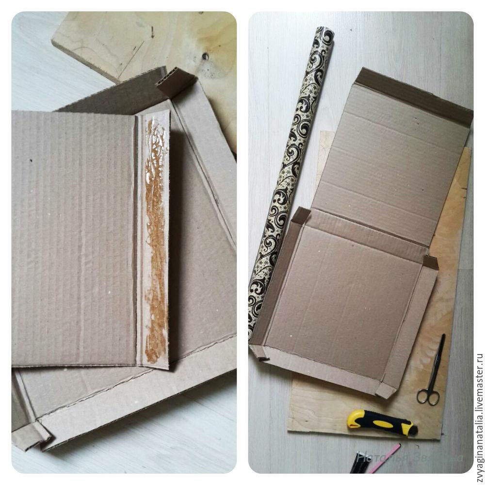 коробка для стекла, сделать упаковку