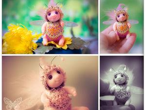 Жужик Пинки чудо-букашка :). Ярмарка Мастеров - ручная работа, handmade.