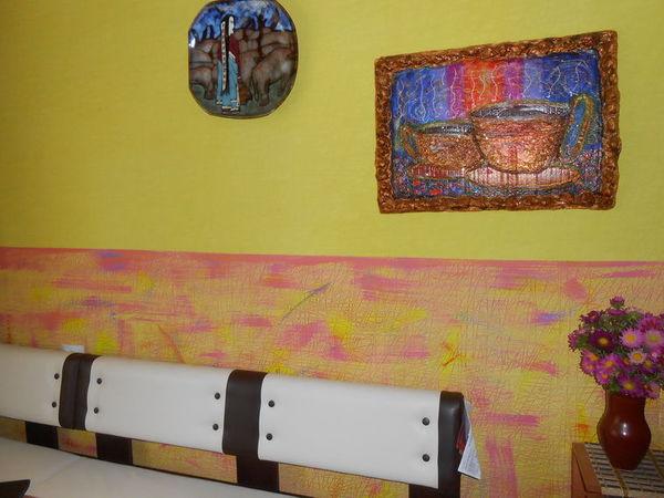 Моя любимая кухня. Легкий декор стены. | Ярмарка Мастеров - ручная работа, handmade