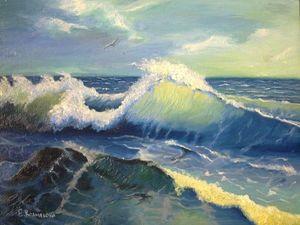 Мооооре-море, мир бездонный. Ярмарка Мастеров - ручная работа, handmade.