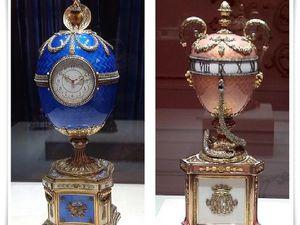 Музей Фаберже. Пасхальное яйцо-часы. Ярмарка Мастеров - ручная работа, handmade.