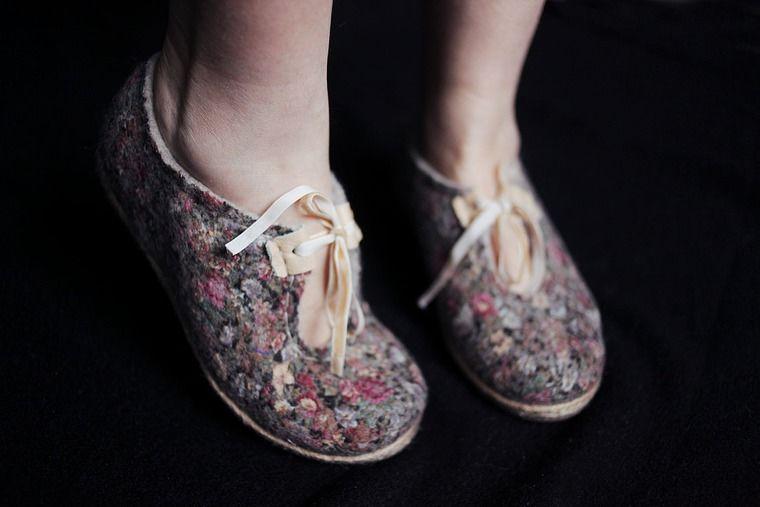 войлок, мк валяние москва, туфли ручной работы, шерсть для валяния