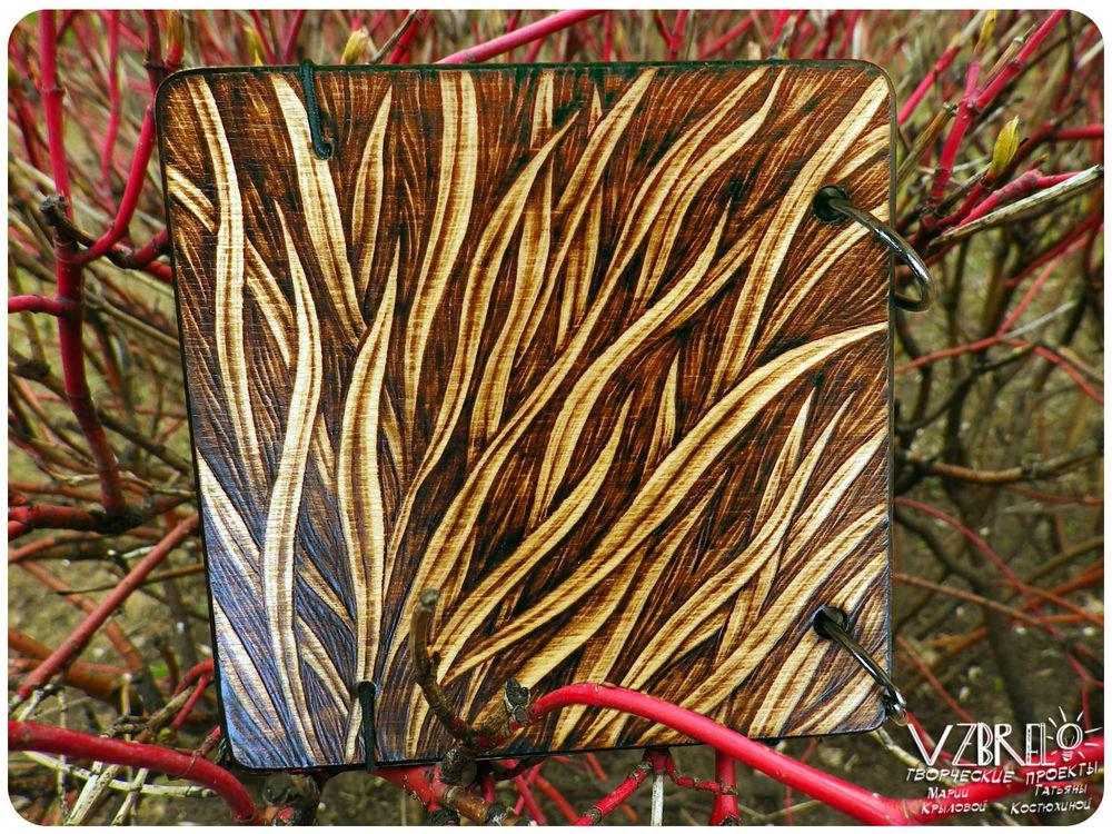 весна, обновление, деревянный блокнот, скетчбук, выжигание по дереву, блокноты ручной работы