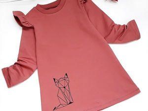 "Нежное платье с крылышками ""Kitty"". Ярмарка Мастеров - ручная работа, handmade."