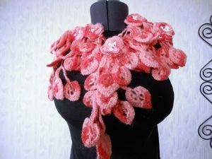 РАСПРОДАЖА оригинальных шарфиков!! от 799 руб!! Дешевле только нитки в магазине!! | Ярмарка Мастеров - ручная работа, handmade