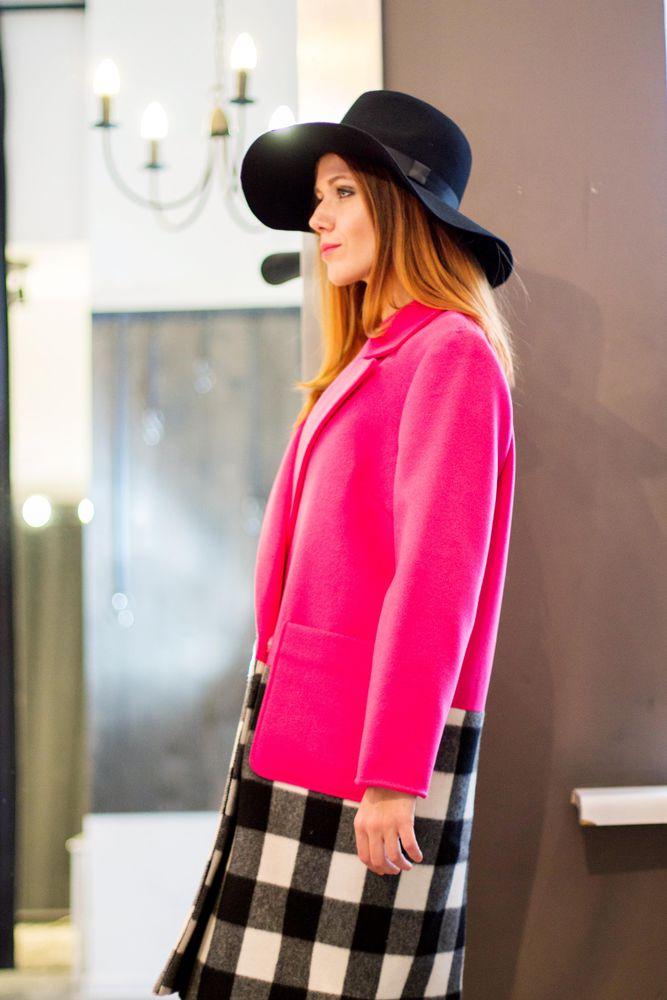 с чем носить шляпы, пальто