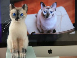 Новая игрушка. Кошечка Таис - больше фото. | Ярмарка Мастеров - ручная работа, handmade