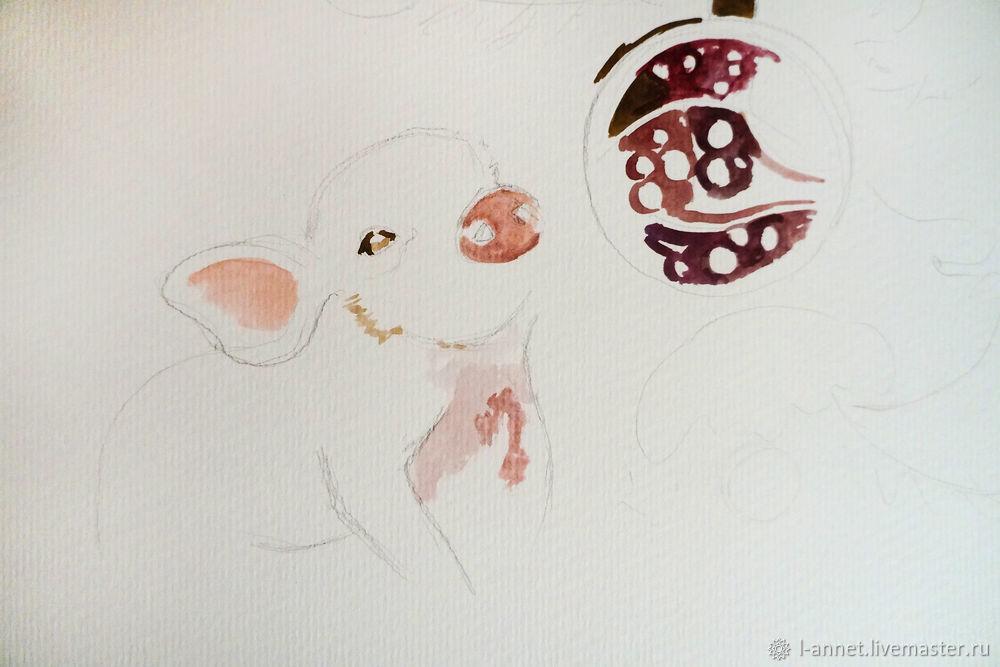 watercolor drawing, drawing tutorial