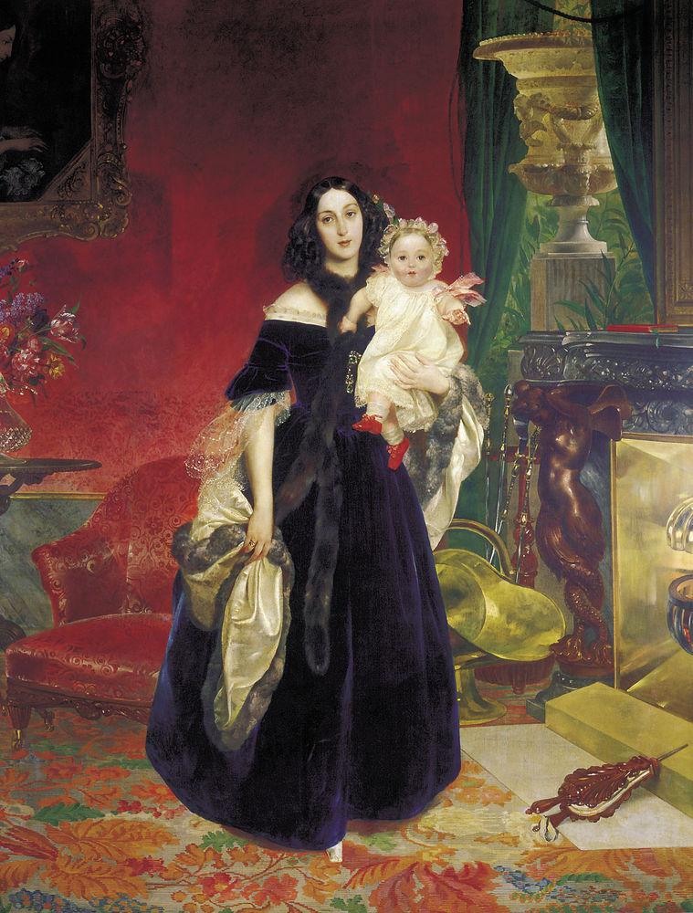 Любовь и творчество Карла Брюллова: образ Юлии Самойловой в работах художника, фото № 8
