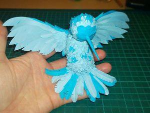 Делаем птицу счастья. Часть вторая. Ярмарка Мастеров - ручная работа, handmade.